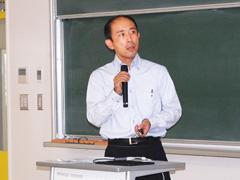 柳純准教授による報告a
