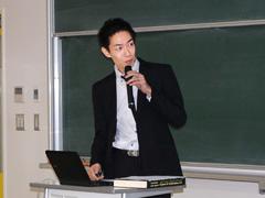 橘誠准教授による報告