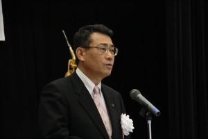 中尾友昭下関市長の祝辞