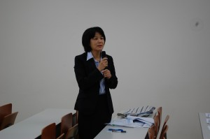 重田美咲准教授との討論