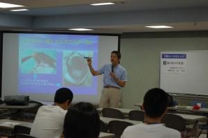 講座6 石川創室長による講義