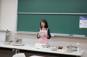 講座9 家根内清美氏による食育実習