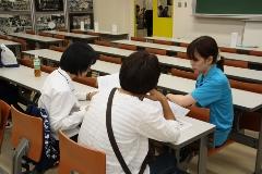 在学生と相談