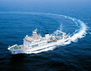 水産大学校練習船「耕洋丸」