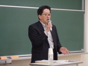 佐藤倫弘氏による講演