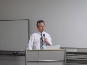 水谷利亮教授による報告