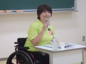 山本千栄子氏による講演