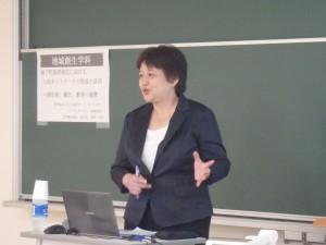 馬場加奈子氏による講演