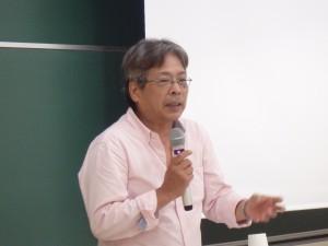 藤中和岳氏による講演