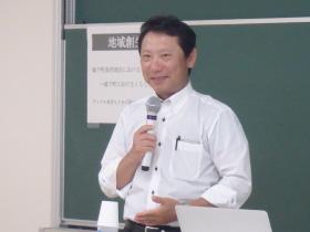 土屋敏夫氏による講演