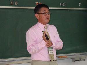 いのちを守る防災教育を推進する会より 気象予報士の永田健太郎氏による講演
