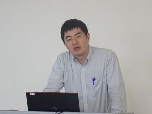 中川真太郎准教授による討論