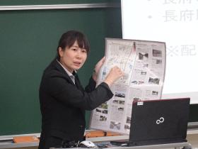 吉武由彩特任教員による報告