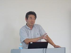 岡本次郎教授による報告