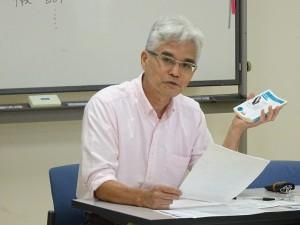 西田雅弘先生による報告