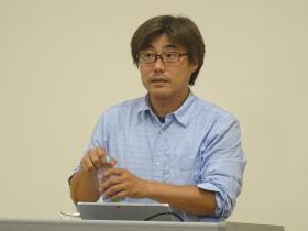 沖野充和氏による講演