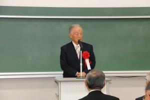 1期会代表の田中 熊義 様