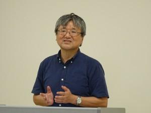 叶堂隆三教授による報告
