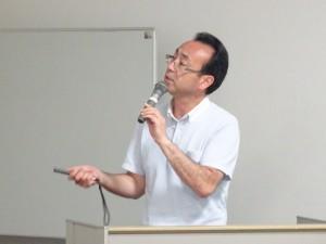 内田晃教授による報告