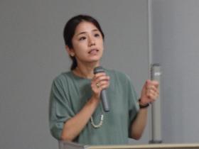 寺田千栄子講師による報告
