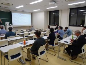 2017-10-04公開講座【秋学期】講座のようす