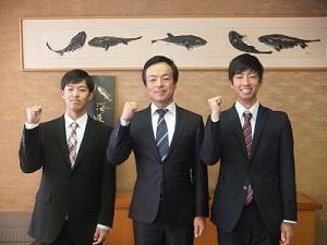 市長表敬訪問②