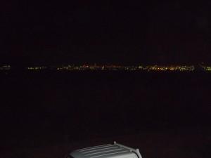 六連島からの夜景