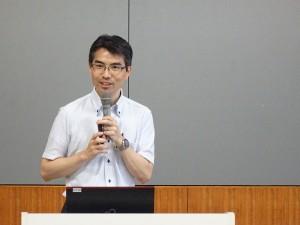 杉浦勝章准教授による報告