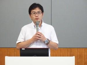 坂本毅啓准教授による報告