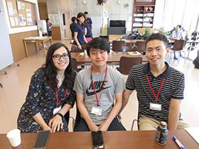 留学生もオブザーバーとして参加しました