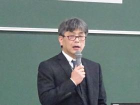 中尾氏による基調講演