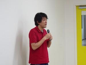 開講の挨拶をする松本貴文アーカイブ部門長