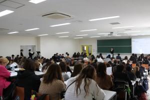 コリアンスピーチコンテストの様子(撮影日:12月11日)
