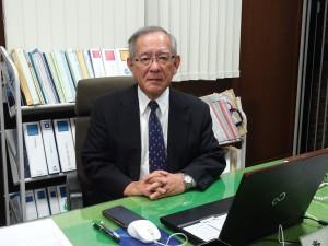 川波洋一学長
