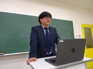 難波利光教授